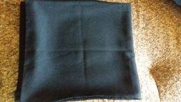 Отрез ткани черного цвета
