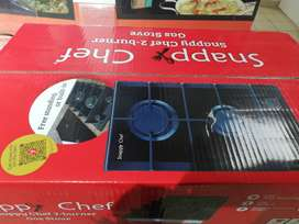 Snappy Chef 2-burner Gas Stove