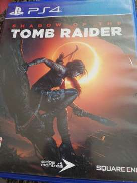 "Ps4 game ""Shadow of the Tomb RAIDER"""