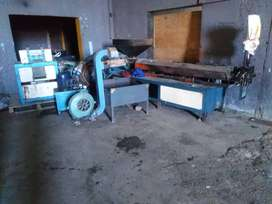 Good used Hume extruder and Hume Agglomerator both 55kw  Motors
