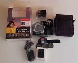 Kamera sportowa eken 4k+dużo akcesorii+karta pamięci+pilot