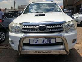 2010 Toyota Fortuner 3.0 D-4D 4x4 Manual