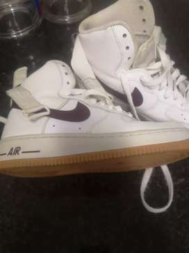 Original Nike Airforce 1 boots size 6