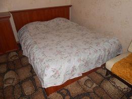Покрывало на двуспальную кровать размер с оборкой
