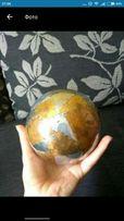 Металлический мяч d.19 вес 488 г. на подставке. Мкр-н Восточный 2