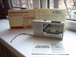 Магнитофон-диктофон кассетный National Panasonic