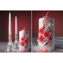 Свадебные свечи б/у
