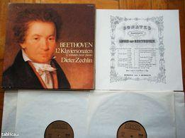 Płyty winylowe -Beethoven 12 Klaviersonaten - Dieter Zechlin
