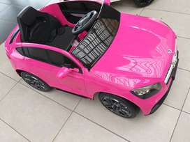 Mercedes GLC Coupe AMG Licensed Kids Electric Ride On Car - Pink