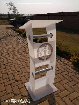 White - Symbol of Purity Pulpits for sale