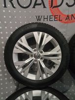 Оригинальные зимние колеса VW Passat B8 B7 новые колпачки в подарок