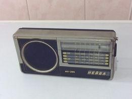 Портативный радиоприемник Нейва РП-204, СВ/ДВ, питание 9 Вольт