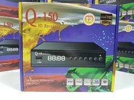 Приставка Т2 тюнер ресивер приемник DVB-T2 Q-Sat Q-150 YouTube IPTV