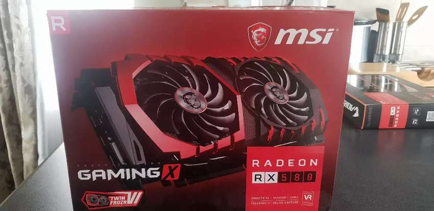 MSI Radeon RX 580 graphics card for sale 0