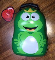 Plecaczek dziecięcy WITTCHEN Travel Kids Żaba 13l - zielony NOWY