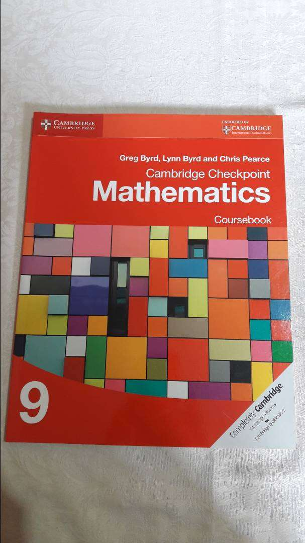 Cambridge Checkpoint Mathematics Course book9 by Byrd Greg 0