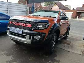 2014 Ford Ranger 3.2 6 speed 4by4 Wild Track D/cab