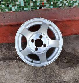 14 inch Deep Dish Nissan 1400 bakkie mags for sale