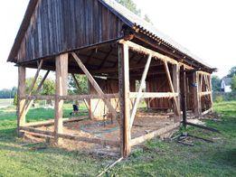 Skup starego drewna stodoła deski darmowa rozbiórka