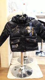 Курточка зимняя на мальчика 3-4 годика.