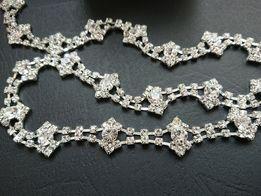 Pasek biżuteryjny srebne