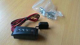 Мото USB зарядка с индикатором и креплением
