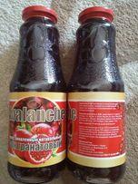 Гранатовый сок (натуральный, без сахара) (стекло) (1 л) (Азербайджан)