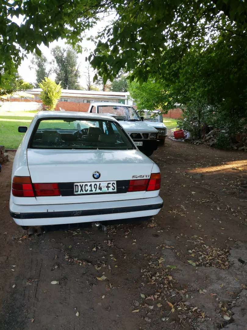 BMW. 540i.project.non runner. Papers available. 0