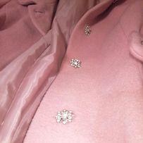 Пальто женское, Swarovski, Elis, Италия, фабричное, шерсть, теплое