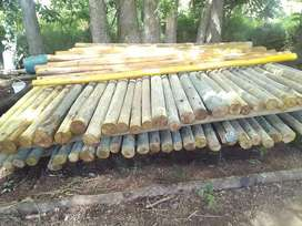 Green Poles and Creosote for sale