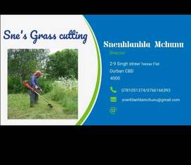 Sne's Grass cutting