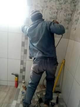 Plumbers and electricians drain geyser stove ovens burst pipes