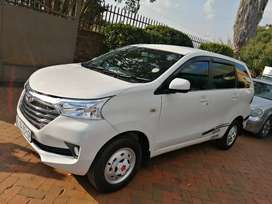 2016 white Toyota avanza engine capacity 1.5