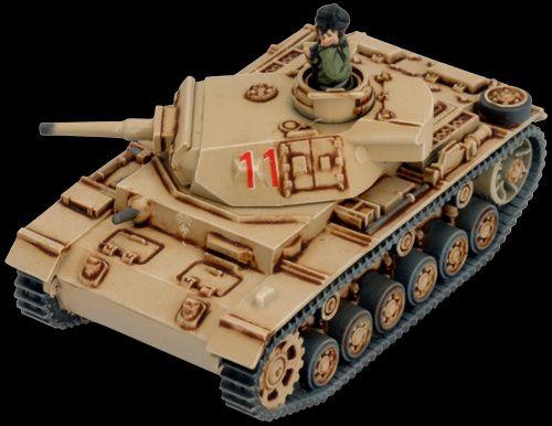 5 niemieckich czołgów Panzer III, Flames of War, plastik, nowe Bielsko-Biała - image 3