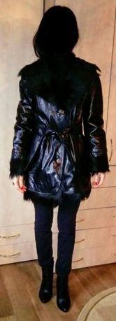 Продается пальто из лакированной кожи. Макеевка - изображение 1
