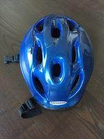 Kask rowerowy na rower dla dziecka Author - niebieski r. S (48-54cm)