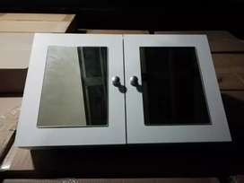 Brand new 2mirrored bathroom cabinets on special