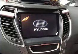 Штатная магнитола Hyundai Santa-Fe Android 7.1