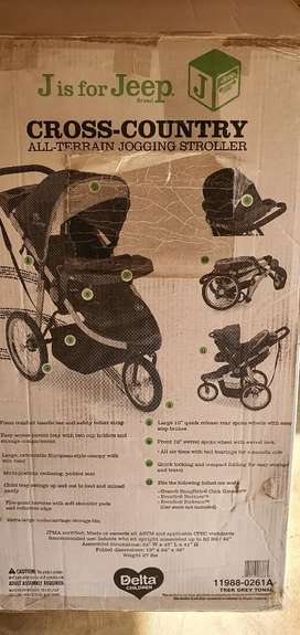 J is for Jeep All Terrain Jogging stroller