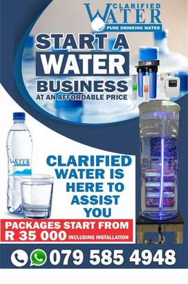 Start a water purifying business