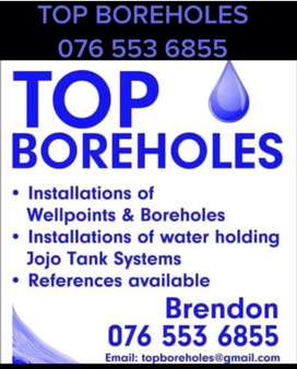 TOP BOREHOLE/ROCK DRILLERS