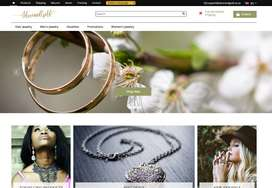 eCommerce Silver & Gold   Jewellery   100+ Products