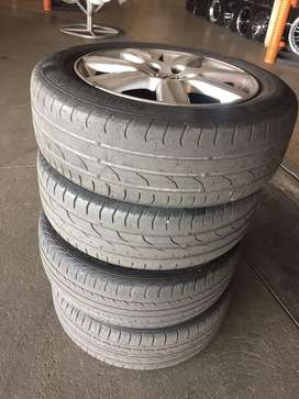 """Vw polo rims 15"""" with tyers"""