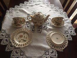 porcelana włoska filiżanki dzbanek