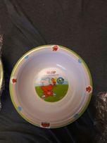 Детские тарелочки для питания HiPP.