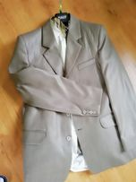 Garnitur 3czesci plus koszula, krawat rozm 50/L/XL
