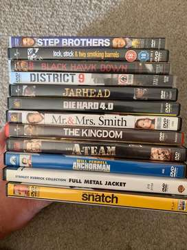 Great Condition 12 DVDs.