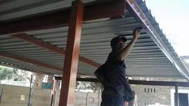 Waterproofing and roof sealing services.
