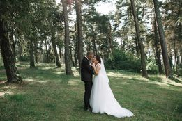Свадебное платье айвори весільна сукня плаття шампань