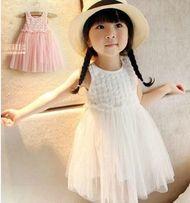 Летом принцесса - зимой снежинка 90-125см Нарядное платье